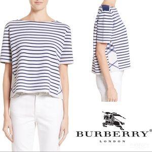 Burberry | Riverpiave Striped Crop Top L